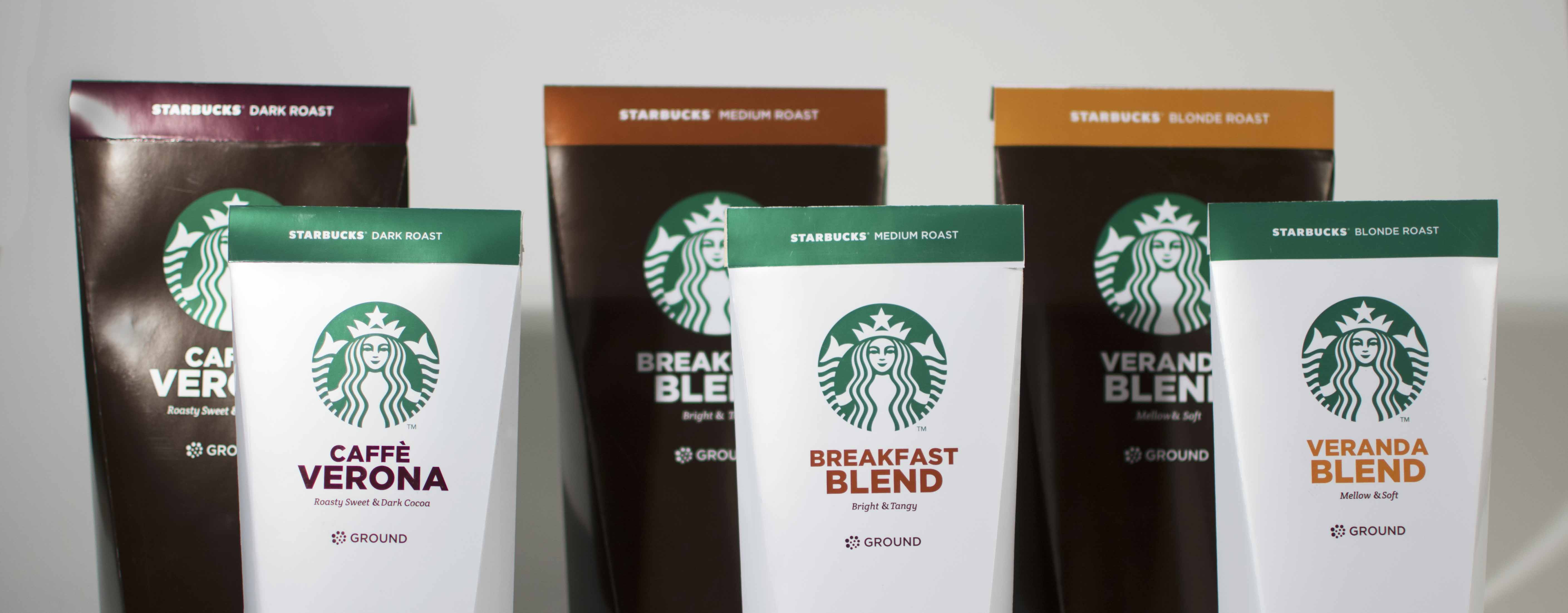 Modren Starbucks Coffee Bag Design To The Rewards Be Hidden Under Freshness Flap So That They Could Only Seen Once Package Was Opened